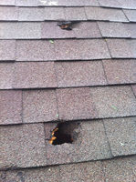 Hail Does Bad Things to Roofs