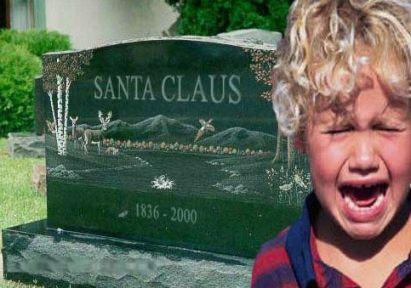 Santa's Dead -- NOT!